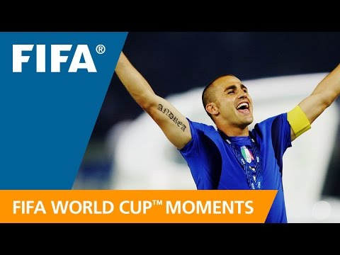 World Cup Moments: Fabio Cannavaro