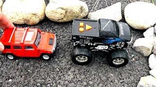 Видео с машинками и другими игрушками. Все серии подряд (сборник)