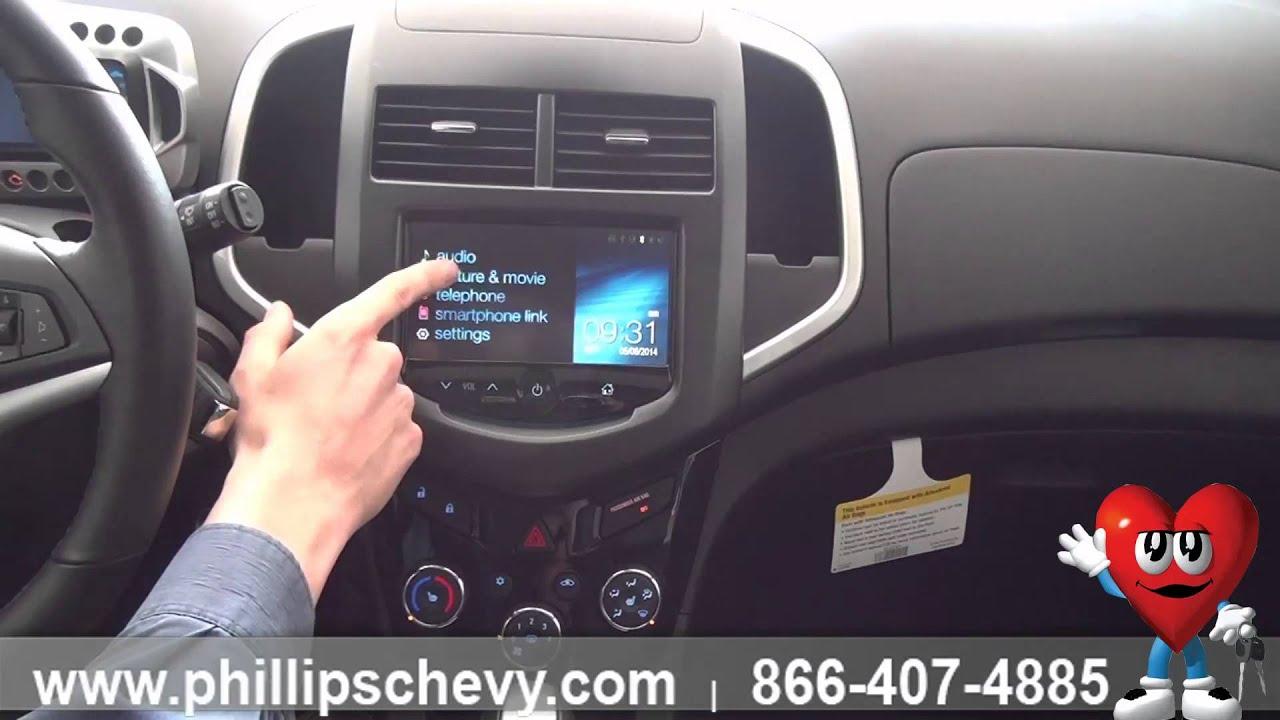 Chevrolet Sonic Repair Manual: Infotainment