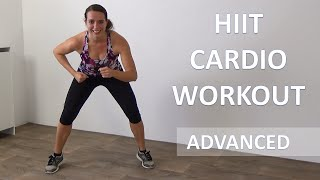 20 Minute Advanced HIIT Cardio Workout