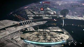 Star Wars Battlefront 2 Starfighter Assault Space Combat Gameplay - Gamescom 2017