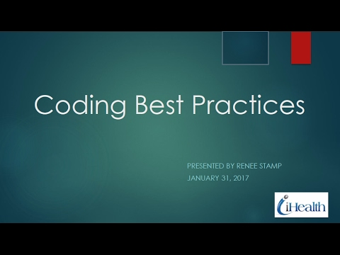 Ask the Expert: Coding Best Practices