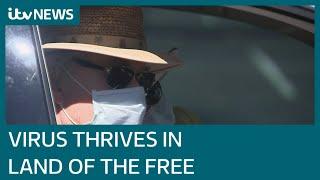 Coronavirus, the US and Arizona: The land of the free where the virus can thrive | ITV News