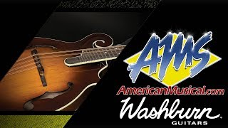 Washburn Timeless Collection F Style Mandolin Overview - American Musical Supply