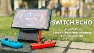 SwitchEcho Speaker/Battery Stands