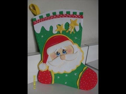 Especial Artfoamicol Botas navideñas en foami Goma eva y Pesebres ...