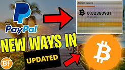 ✅BEST Way How To Buy Bitcoin With Paypal OR Debit Card 2020