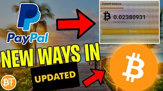 ✅BEST Way How To Buy Bitcoin With Paypal OR Debit Card 2019