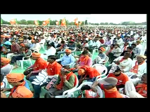 PM Shri Narendra Modi addresses public meeting in Sanand, Gujarat :  10.12.2017