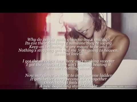 Robin Thicke - The Sweetest Love (lyrics)