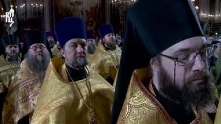 Проповедь Патриарха Кирилла после великой вечерни в праздник Рождества Христова