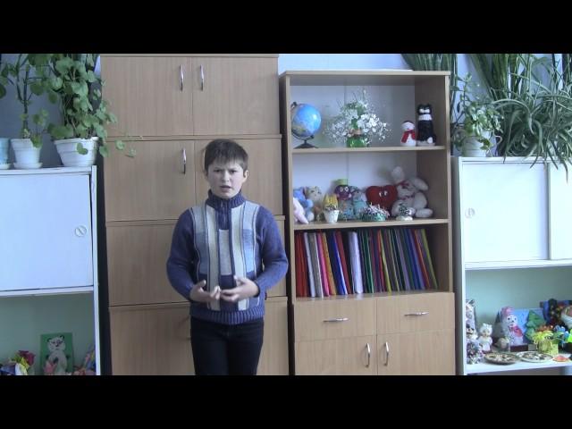 Изображение предпросмотра прочтения – АлександрЦелуйко читает произведение «Что такое хорошо и что такое плохо» В.В.Маяковского