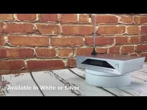 Soundmaster Ur2040si Bluetooth Under Cabinet Kitchen Fm Dab Radio