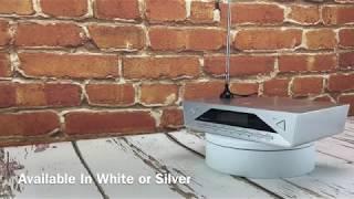 soundmaster UR2040SI Bluetooth Under Cabinet Kitchen FM / DAB Radio
