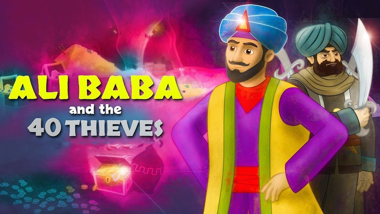 Ali Baba and the Forty 40 Thieves