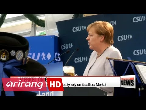 Thumbnail: Europe can no longer completely rely on its allies: Merkel