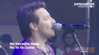 No Te Va Gustar - No necesito nada - Personal Fest 2013