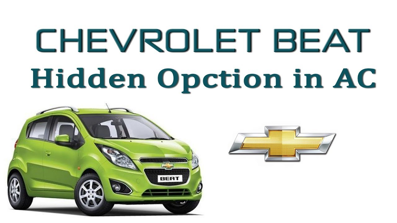 Chevrolet Beat Hidden Features Unlocked Youtube