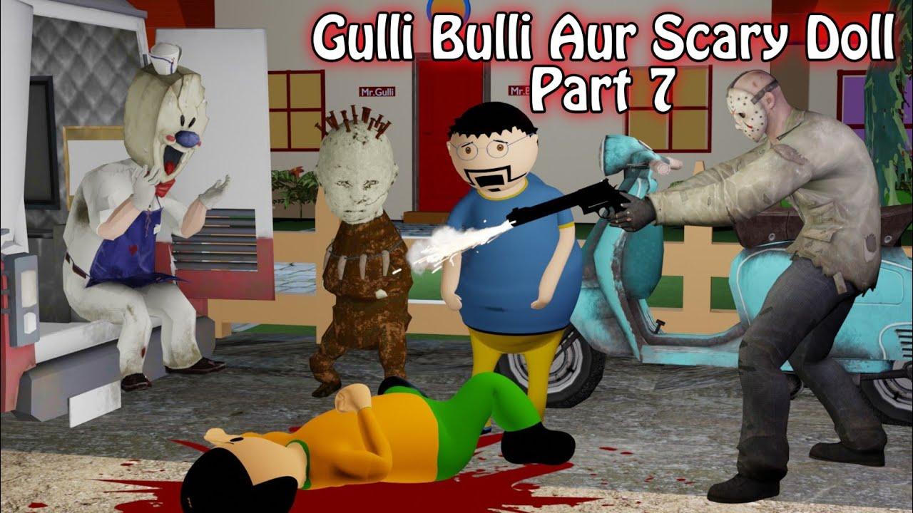 Gulli Bulli Aur Scary Doll Horror Story Part 7 | Scary Stories | Make Joke Horror