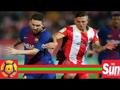 Lionel messi asked man city loanee pablo maffeo if he was from the etihad in win over girona