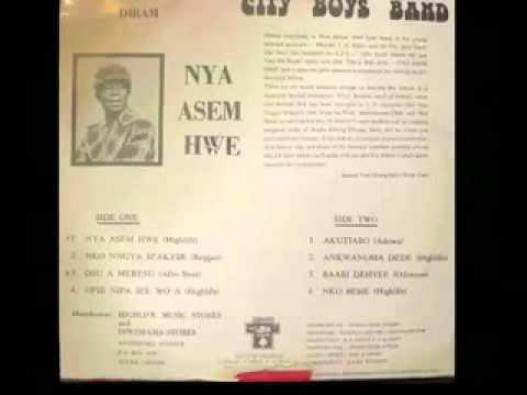 City Boys Band Of Ghana Nya Asem Hwe