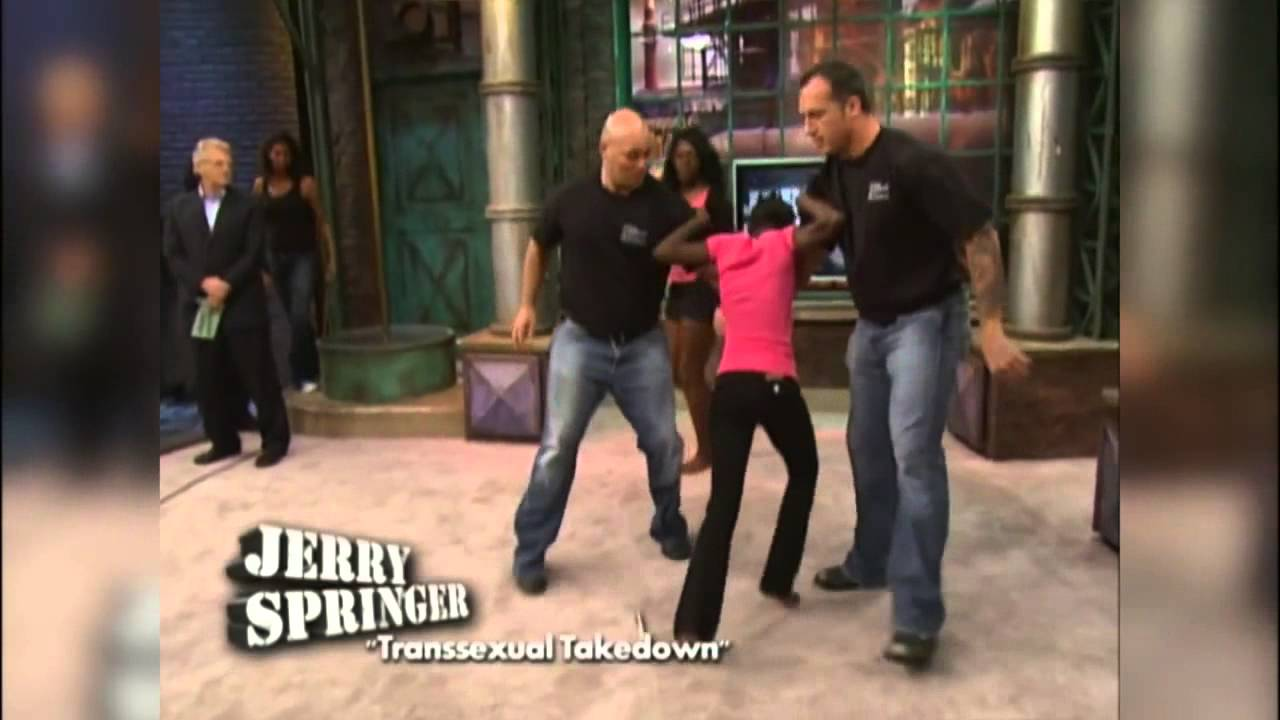 Jerry Springer Official Tranny Fights
