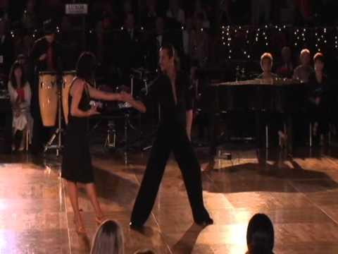 Arkadiy Polezhaev and Natalja Panina show dance