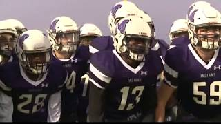Local football teams shows support for police