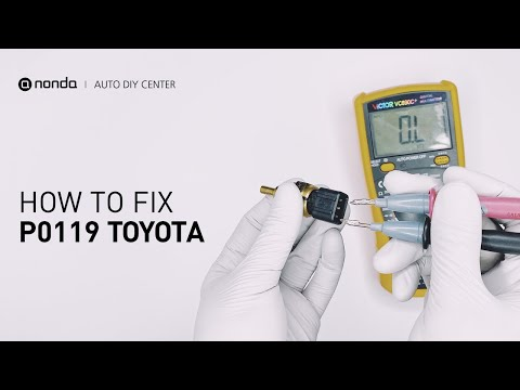How to Fix TOYOTA P0119 Engine Code in 3 Minutes [2 DIY Methods / Only $7.28]
