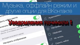 Как установить царский вк,vk settings на iPhone ? Новая версия ! Рабочие уведомления !