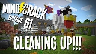 "Minecraft Mindcrack Server Ep 61 - ""Halloween Cleanup Time!!!"""