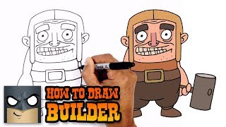 How to Draw Builder | Clash-A-Rama