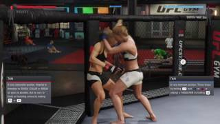 Holly Holms beats Ronda Rousey into a bloody pulp (UFC 2: Ryona Edition)