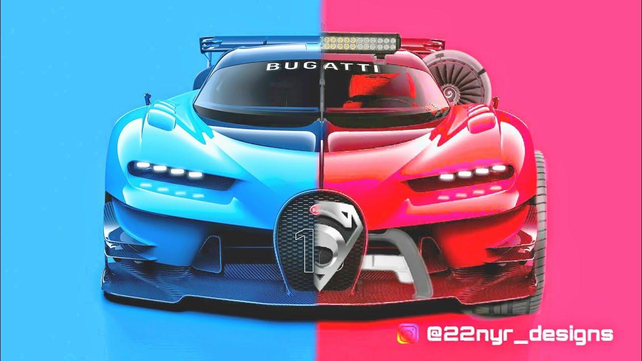 Modified Bugatti Monster Car Photoshop 2 Youtube