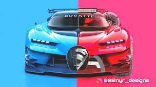 Modified Bugatti - Monster car(Photoshop) 2
