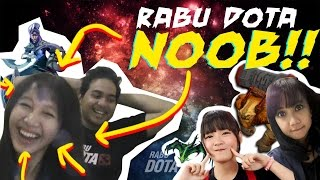 "Rabu Dota Noob - Eps 2 ""Luna Tanker"" (with CyllaChan, Donna Visca, Crestfall)"