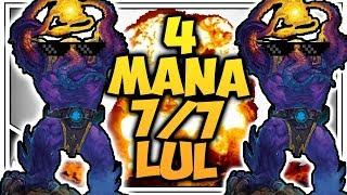 Hearthstone: 4 Mana 7/7 LuL - Even Shaman - Rise Of Shadows