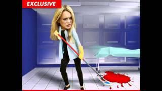 Lindsay Lohan llegó tarde a su  servicio en la morgue