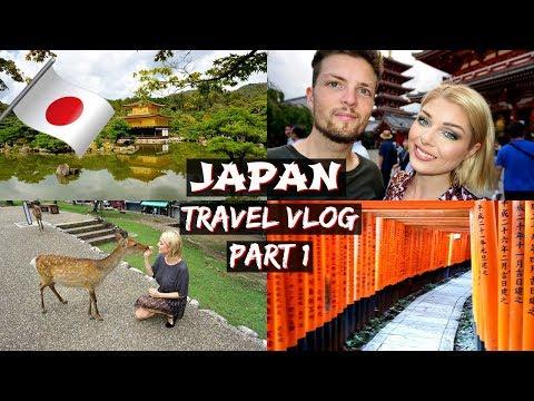 Japan Travel Vlog Part 1   Kyoto & Nara