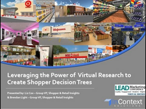 Leveraging the Power of Virtual Research to Create Shopper Decision Trees