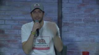 Zachary Levi describes singing at the Oscars