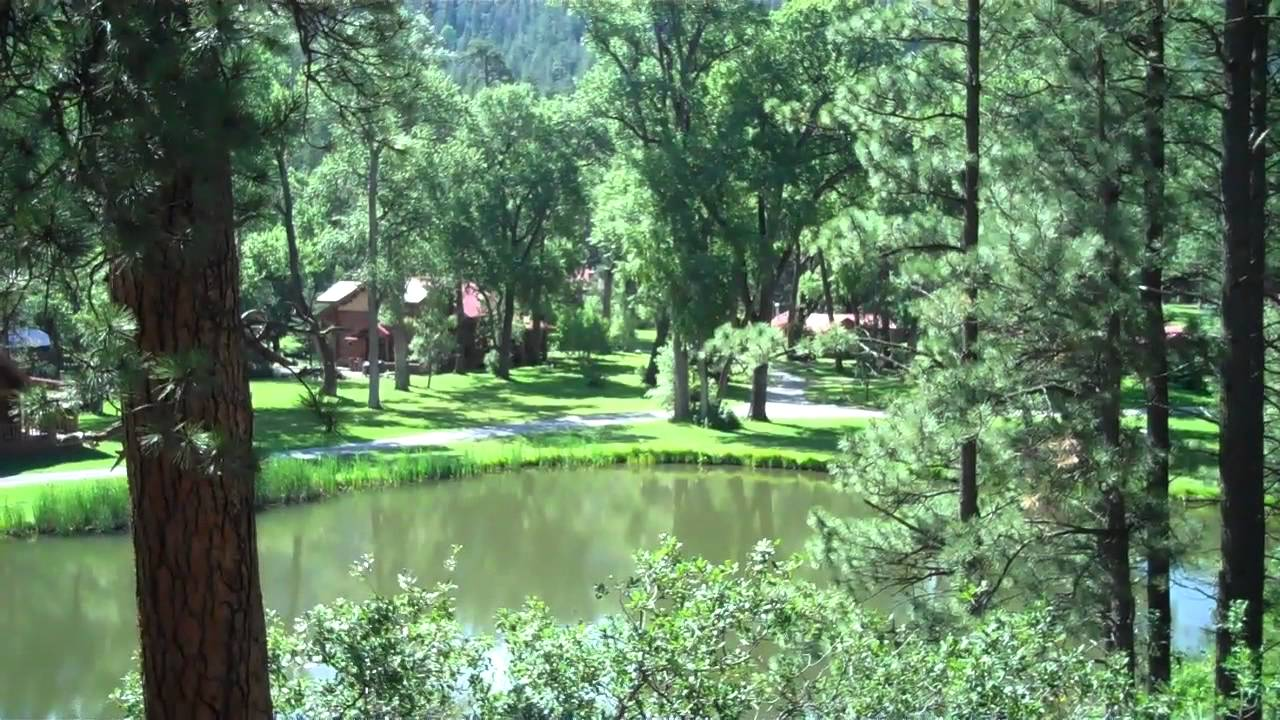 Fly fishing log cabin on the pecos river for sale youtube for Fishing cabins for sale