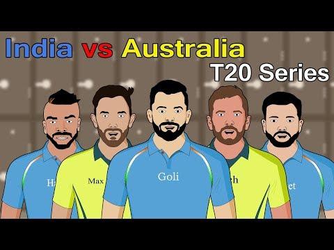 India vs Australia T20 Series