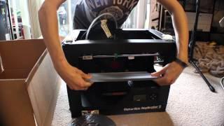 MakerBot Replicator 2 3D Printer Unboxing