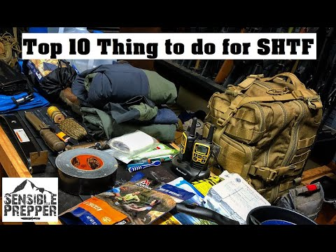Download Top 10 Things to do Now for SHTF