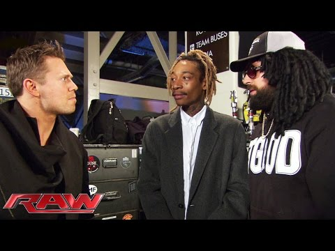 "Damien ""Wizdow"" shows off his rap skills for Wiz Khalifa: Raw, March 9, 2015"