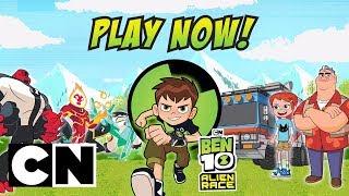 Ben 10 Alien Yarış | Oyun Derleme | Cartoon Network