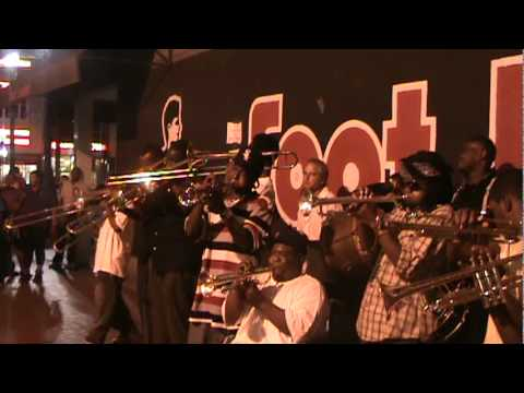 TBC Brass Band on Bourbon and Canal
