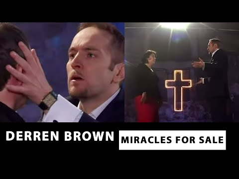 Derren Exposes The Tricks Of Faith Healers! | Miracles For Sale | Derren Brown