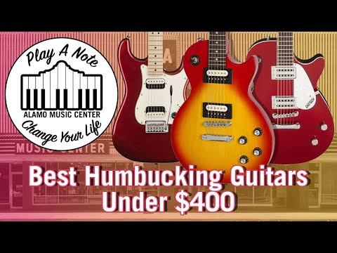 Best Humbucking Electric Guitars Under $400 - Gretsch Vs Squier Vs Epiphone Tone Shootout